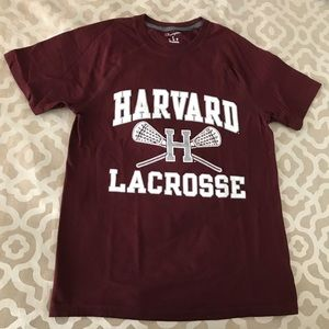 Champion Harvard Lacrosse Short Sleeve T-Shirt